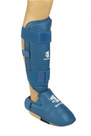 Matsuru 0492 karate scheen-voetbeschermer