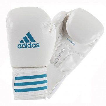 adidas Female Power 100 (kick)Bokshandschoenen ADIZERO Wit/Blauw