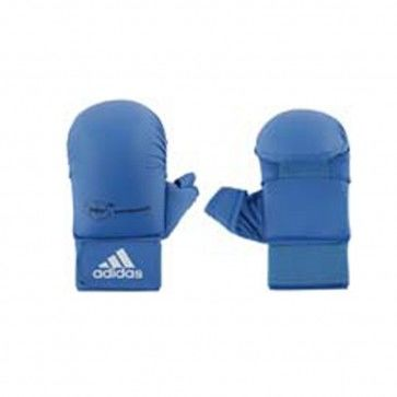adidas WKF Karatehandschoen Met Duim Blauw ADI661-23B
