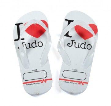 I love judo teenslippers Judopak.com Gudz
