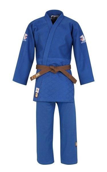 Welp Matsuru 0063 judopak IJF Mondial blauw Getailleerd kopen? Bestel VG-68