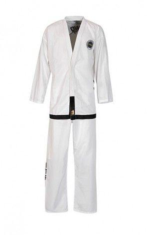 Matsuru 01361 ITF zwarte streep Taekwondo pak