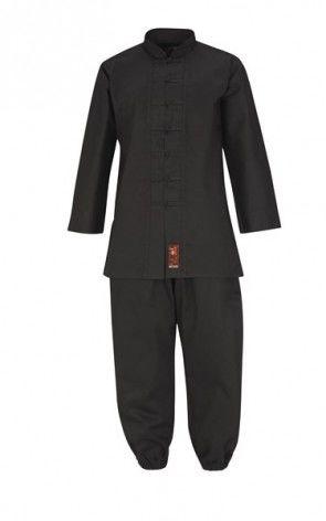 Zwart Kung Fu pak