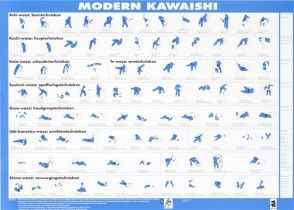 Matsuru 034200 instructieposter Kawaishi 70 x 50 cm.