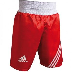 "adidas ""Multi"" Boxing Short Rood/wit"