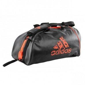 Adidas 2 in 1 Sporttas Zwart/Oranje