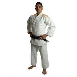 adidas Judopak J990 Millenium Wit/Oranje ADIJ990-WO