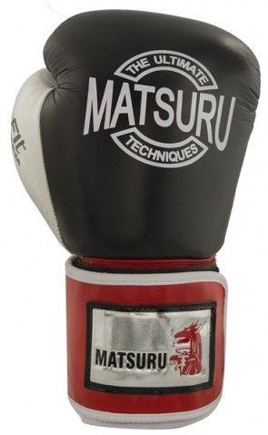 Matsuru 94212 Pattaya Leer zwart/wit