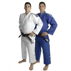 adidas Champion II IJF wit en blauw
