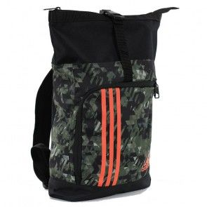 adidas Training Military Sporttas Camouflage Oranje