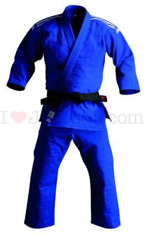 Adidas Wedstrijd judopak J650 Blauw