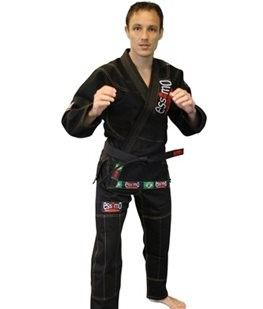 BJJ pak zwart (Brazilian Jiu Jitsu)