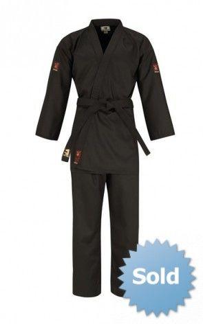 Matsuru 0193 zwart Hapkido pak